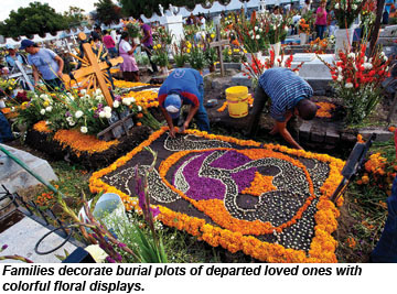 Day of the Dead burial plots