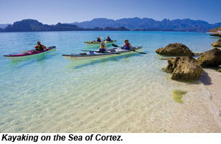 SEA OF CORTEZ KAYAKING