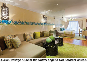 Sofitel Legend Old Cataract Aswan Nile Prestige Suite