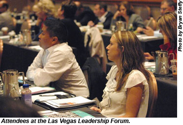 2012 Las Vegas Leadership Forum attendees
