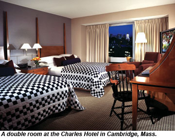 Charles Hotel room