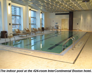 InterContinental Boston pool