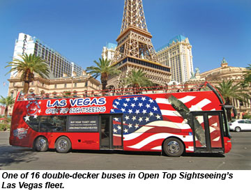 Open Top Sightseeing Bus