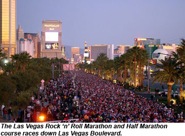 Las Vegas Rock N Roll Marathon Set For Dec 2 Travel Weekly