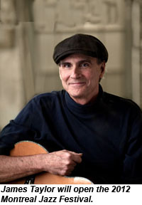 Montreal Jazz Festival, James Taylor