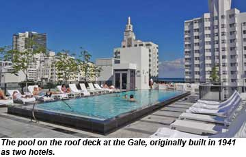 Miami Menin Hotels Decision To Convert A Former Nursing Home Here Into Chic Collins Avenue Hotel Arose From Philosophy That Has Helped Make The