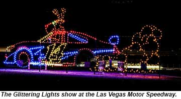 Holiday light show returning to las vegas speedway travel for Glittering lights las vegas motor speedway