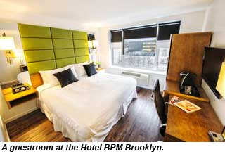 Hotel BPM Brooklyn guestroom