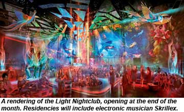 Mandalay Bay Light Nightclub rendering