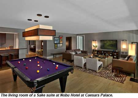 Nobu Hotel suites open at Caesars Palace: Travel Weekly