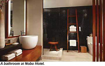 Nobu Hotel bathroom