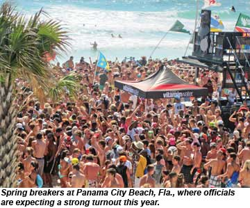 Spring Break Panama City Beach