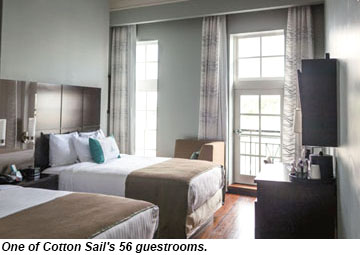 Cotton Sail Hotel guestrooms