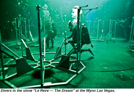 Diving in for interactive experiences in Las Vegas: Travel Weekly