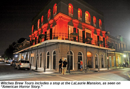 Screen Time Scream Time On New Orleans Tours Travel Weekly