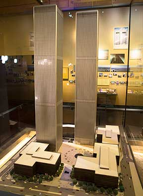Tourism Cares Funds Display Of World Trade Center Model