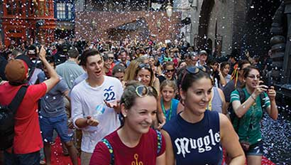 Diagon Alley opening