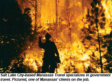 Manassas Travel firefighter