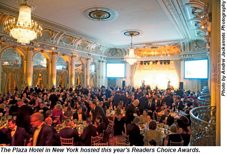 2013 Readers Choice Awards gala ceremony