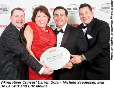 Viking River Cruises execs
