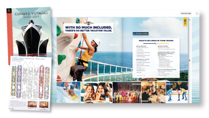 Cruise brochure graphic