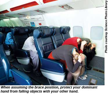 BA Safety Brace Position