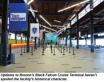 Boston S Updated Black Falcon Terminal Ready For Traffic