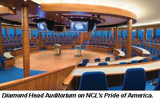 NCL Pride, Diamond Head Auditorium