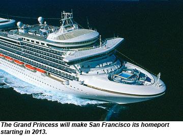 San Fran Cruising Gets Lift From Princess Move New Terminal - Cruise ships from san francisco