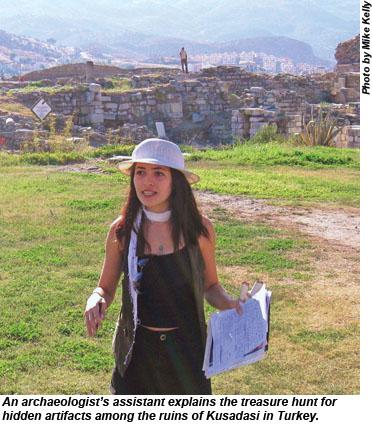 Kusadasi archaeologist