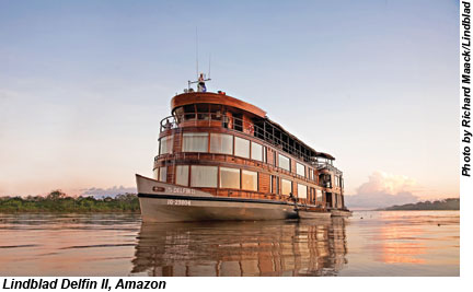 Lindblad Delfin II, Amazon