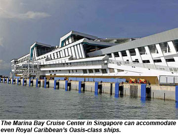 Marina Bay Cruise Center Singapore