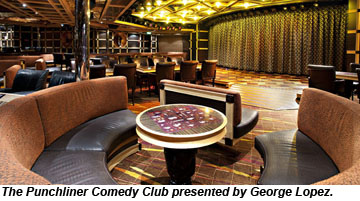 Carnival Introduces George Lopezbranded Comedy Club Travel Weekly - Punchliner comedy club