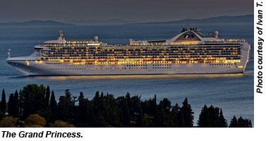 Grand Princess To Call San Francisco Home Travel Weekly