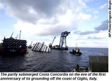 Costa Concordia AP