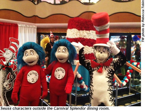 Carnival Cruise Lines Inks Deal To Use Dr Seuss