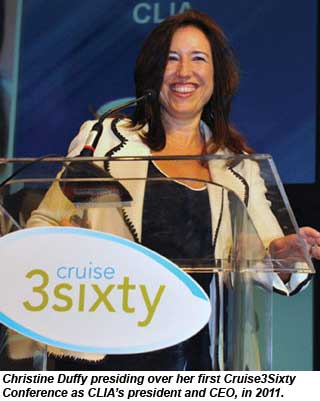 Christine Duffy at Cruise3sixty