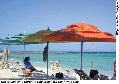 Serenity Bay on Castaway Cay.