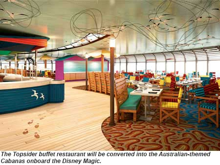 Disney Magic Cabanas rendering
