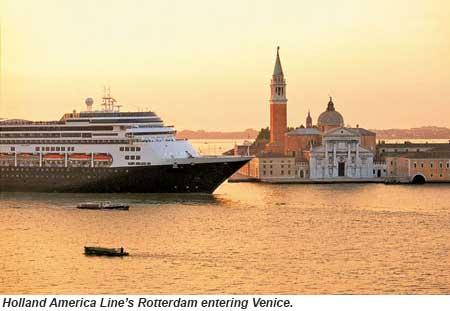 Holland America Line Rotterdam in Venice