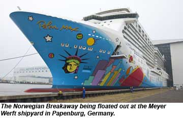 Norwegian Breakaway Float Out