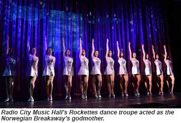 Norwegian Breakaway Rockettes