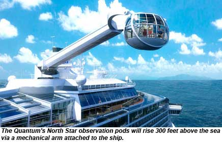 Quantum of the Seas North Star Pod Rendering