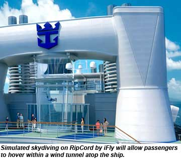 Quantum of the Seas Rip Cord by iFly Rendering