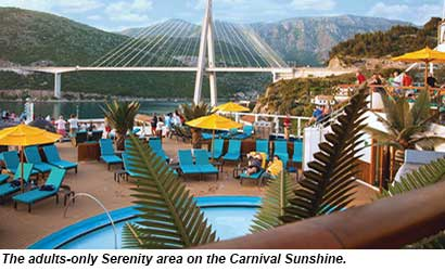 Carnival Sunshine Serenity