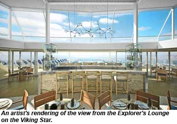 Viking Star Explorers Lounge rendering