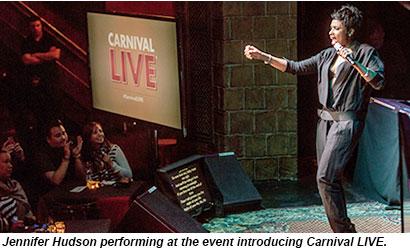 Carnival Live, Jennifer Hudson