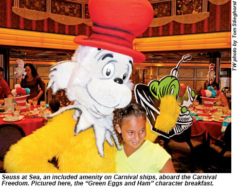 Seuss at Sea on the Carnival Freedom