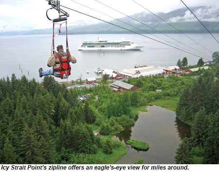 Icy Strait Point Zipline