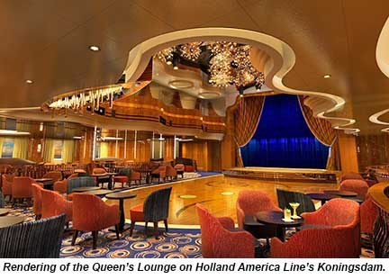 Holland America Line Previews Koningsdam Interiors Travel